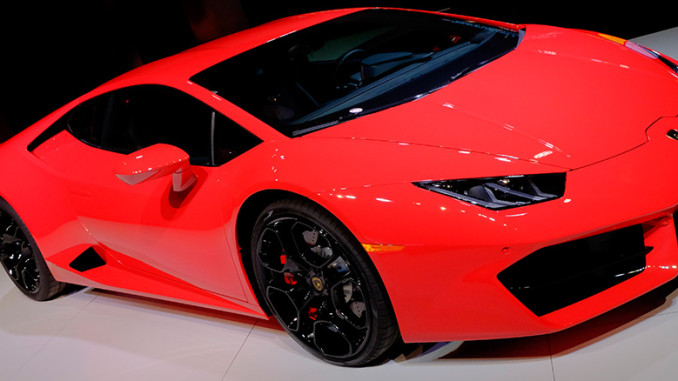 lamborghini huracan f r einsteiger los angeles 2015 news. Black Bedroom Furniture Sets. Home Design Ideas