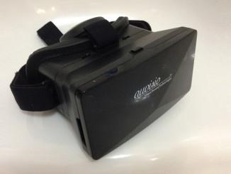 auvisio Virtual Reality Brille VRB70.3D mit Magnetschalter