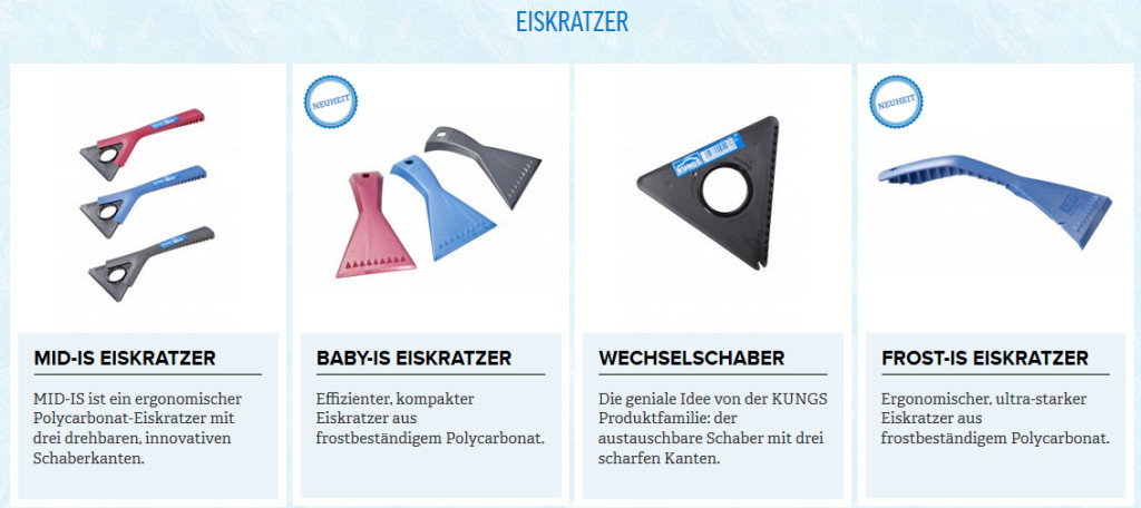KUNGS Eiskratzer