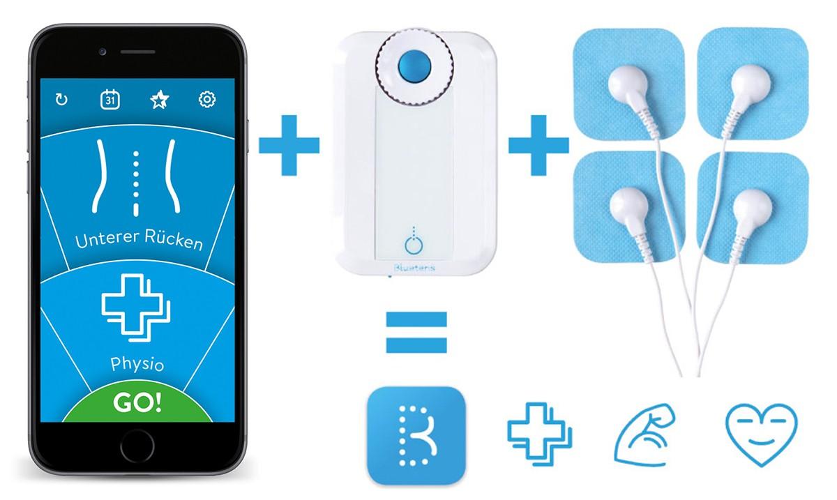 Bluetens – Elektrostimulationsgerät mit App-Steuerung für zu Hause