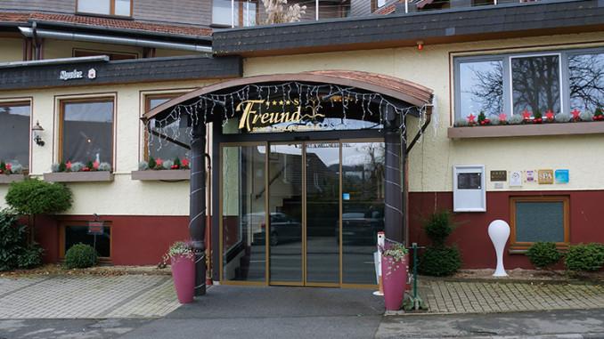 Freund Das Hotel & Spa-Resort Eingang