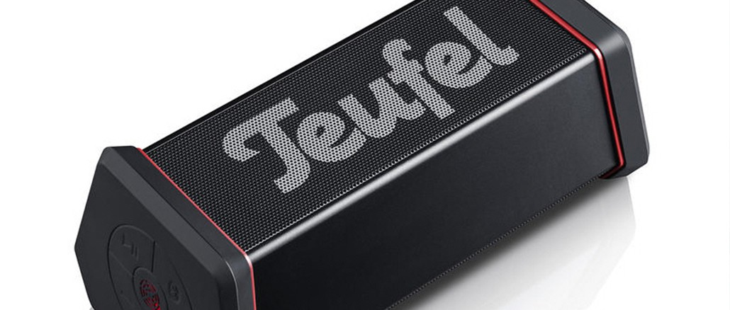 teufel rockster xs mobiler bluetooth lausprecher im test. Black Bedroom Furniture Sets. Home Design Ideas