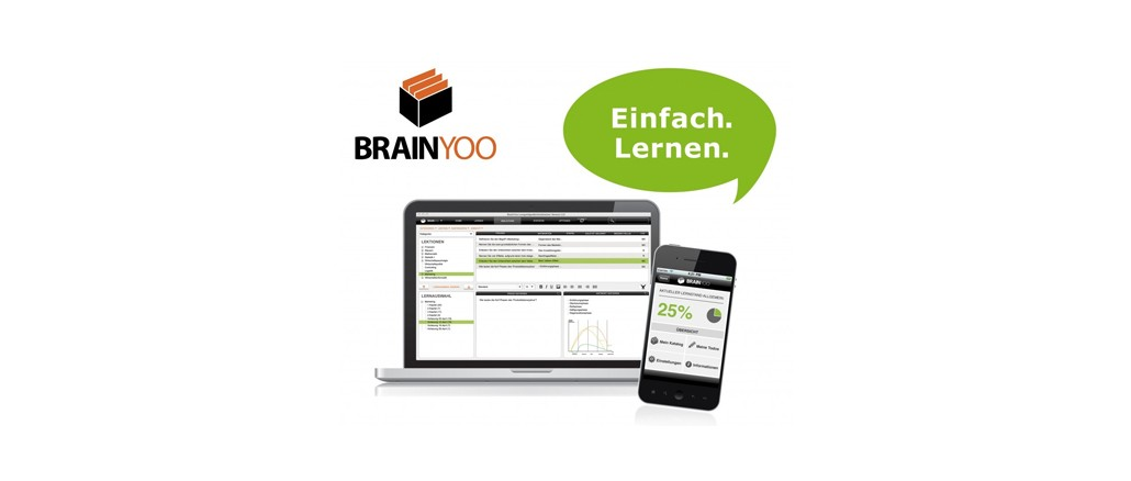 Brainyoo kostenlose Lernsoftware und App