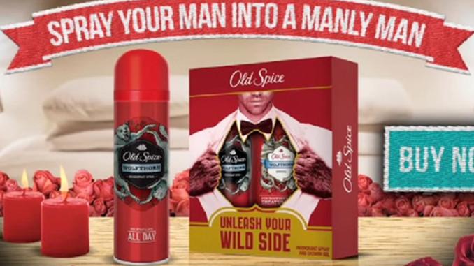 Werbung | Mit Old Spice am Valentinstag zum echten Mann werden