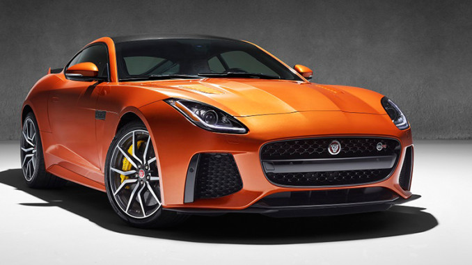 Jaguar F-Type SVR