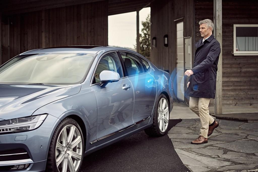News: Volvo – Das Smartphone ersetzt den Autoschlüssel