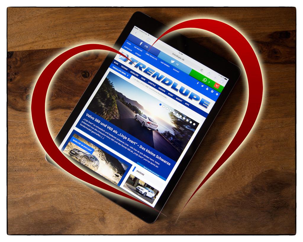 iPad Herz