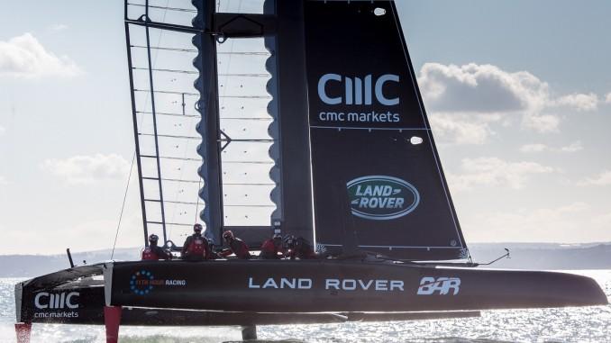 Werbung | Land Rover im Wasser – Die Briten beim America´s Cup
