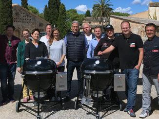 Grillneuheit Präsetation Mallorca Weber Summit charcoal Grill