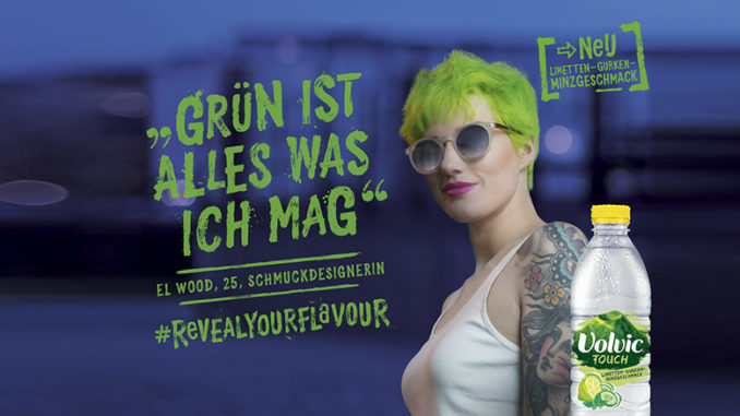 #revealyourflavour von Volvic