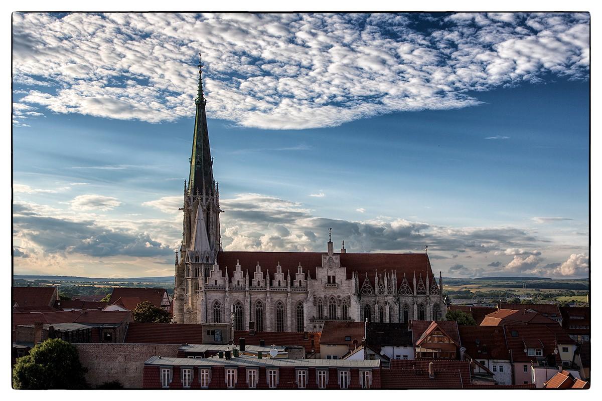 historische Altstadt von Mühlhausen