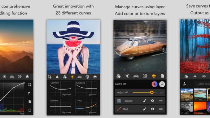 Bildkorrektur auf dem iPhone oder iPad mit MaxCurve