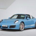 Werbung   Porsche 911 Targa in der Exclusive Design Edition