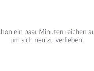 """Deutsche Bahn """"Sich wieder neu verlieben"""" - #zeitzuzweit"""