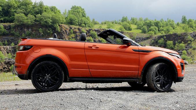 Evoque Cabrio von Range Rover