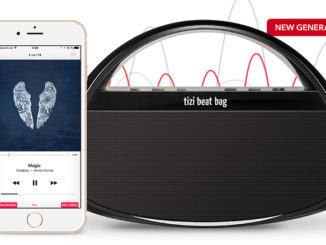 tizi beat bag – Mobiler Lautsprecher im Handtaschen Format