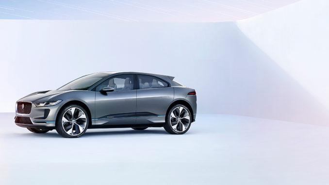 Jaguar I-PACE - Jaguar präsentiert elektrisches SUV