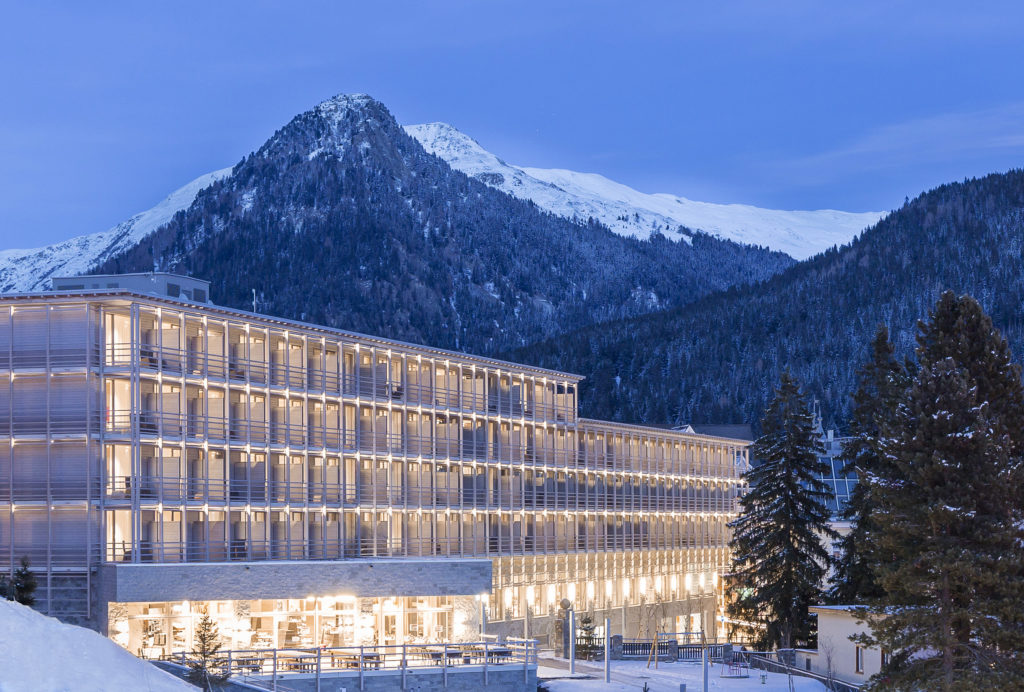 Werbung | Hotelbewertung: AMERON Mountain Hotel Davos