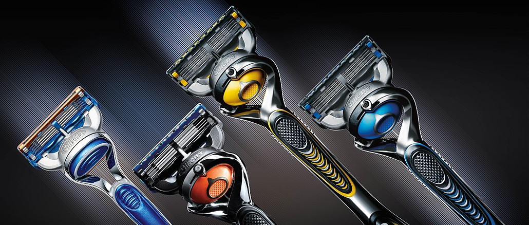 Die Fusion Familie von Gillette – Die Rasierer mit dem Präzisionstrimmer