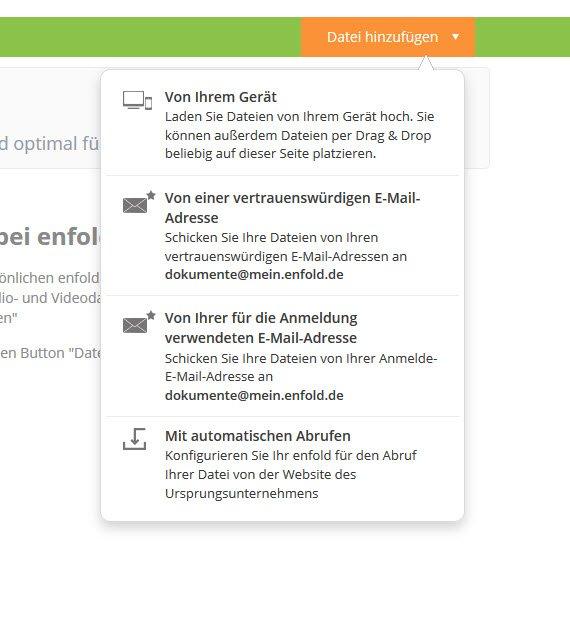 Anzeige: enfold® – der digitale Dokumentenmanager