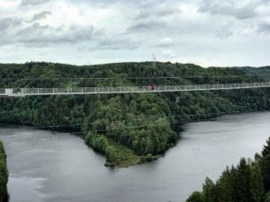 weltweit längste Hängebrücke