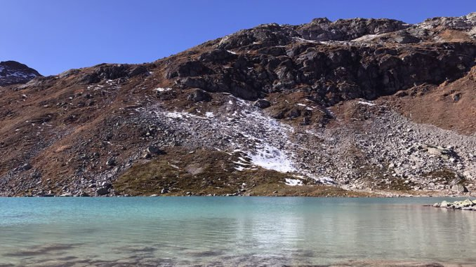 Jöriseen – Wunderschönes Naturschauspiel inmitten einer kargen Berglandschaft