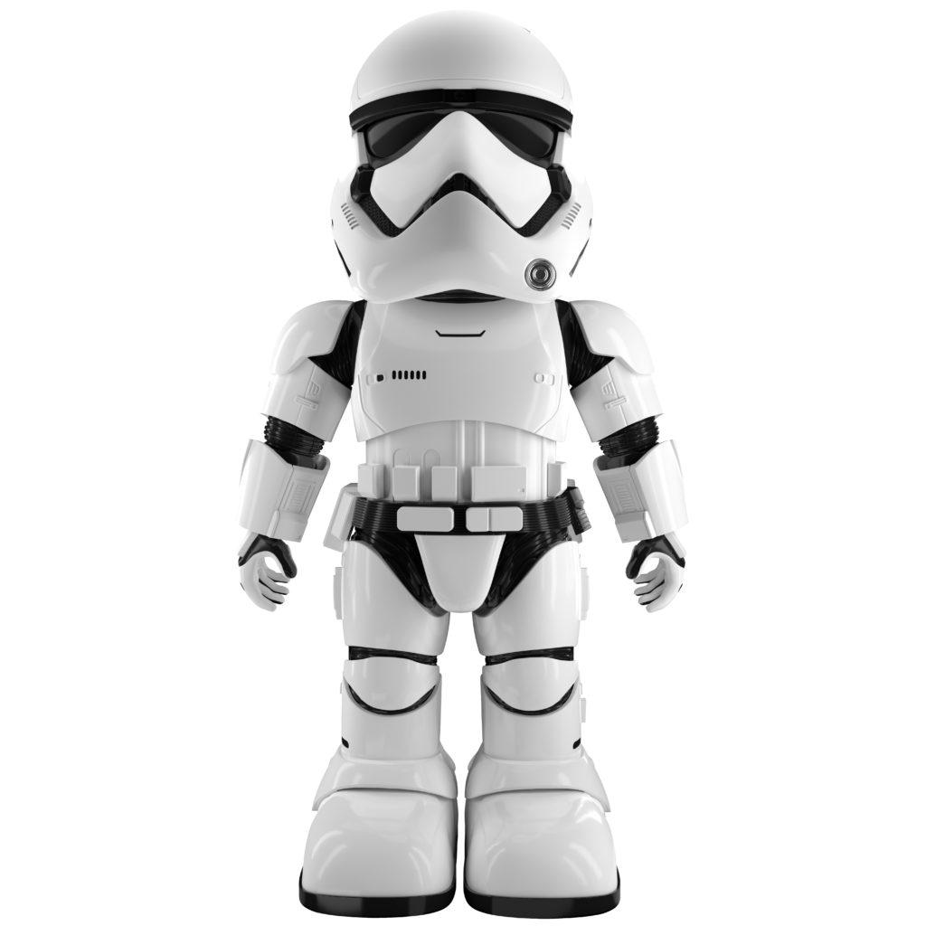 UBTECH Star Wars Stormtrooper Roboter Intergalaktische Abenteuer zuhause erleben
