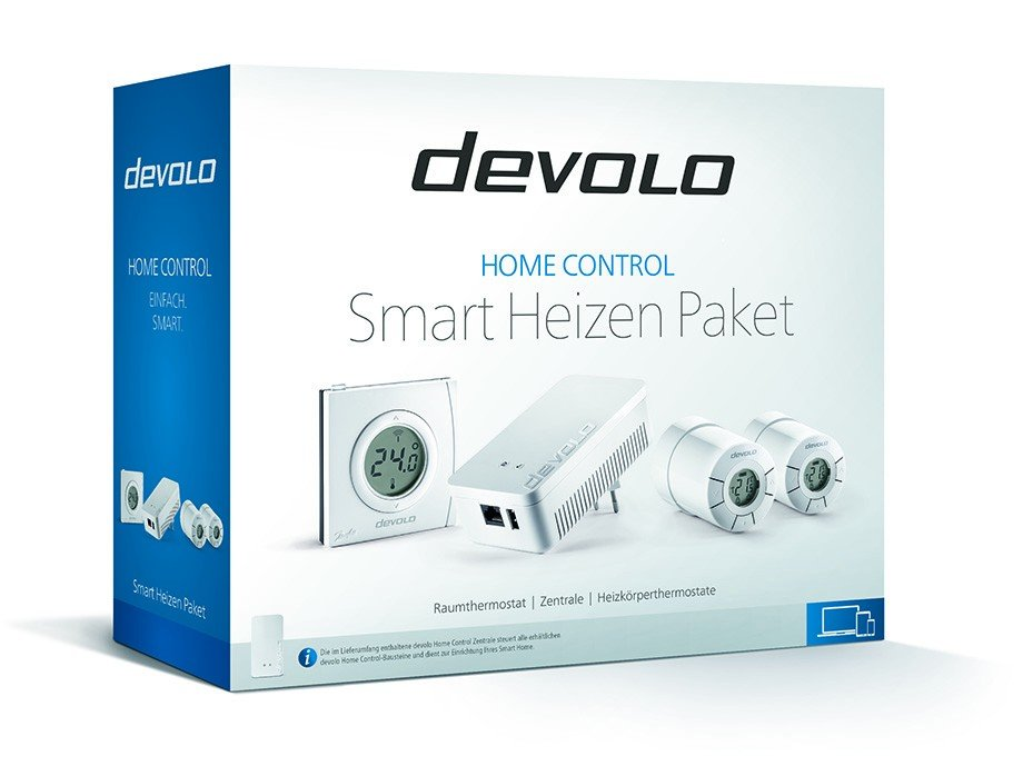 devolo Smart Heizen Paket - Nicht nur im Winter perfekt