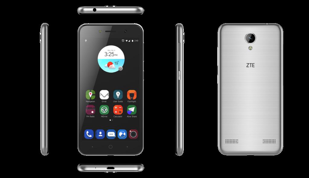 """ZTE Blade A602 - Tolle Smartphone-Welt für wenig Geld Der chinesische Smartphone-Hersteller ZTE, führt neben weiteren Smartphone Modellen auch das A602 in Deutschland ein. Mit diesem Smartphone geht man durchaus in Richtung günstiges Smartphone für anspruchsvolle Einsteiger. Selbstverständlich ist das A602 wegen des günstigen Preises auch ideal als Zweitgerät nutzbar wenn man unterwegs ist. Das Blade A602 bietet seinem Nutzer dabei ein ausreichend großes 5,5-Zoll-Display bei einer Auflösung mit 1.280 X 720 Pixel an. Genug Bildschirm um alle Aufgaben und Programme mobil nutzen zu können. Das A602 verfügt im Inneren über einen Quad-Core-Prozessor mit 1,25 GHz Leistung und 1 GB RAM. Unterstützt wird das Gerät dabei von einem internen Speicher von 8 GB, welcher aber für ZTE natürlich mittels einer separaten microSD-Karte um bis zu sehr guten 128 GB erweitert werden kann. In Sachen Konnektivität stehen beim Blade A602 Bluetooth 4.1, WLAN bis zum n-Standard und LTE zur Verfügung. Mit dem A602 Modell von ZTE ist sogar Dual-SIM-Betrieb tauglich. So kann man gleich zwei unterschiedliche Anbieter in seinem Smartphone nutzen ohne ständig die SIM-Karte wechseln zu müssen. Als Betriebssystem verwendet das A602 von ZTE das Android 7 Nougat. Für exzellentes Durchhaltevermögen und eine Sprechdauer von bis zu 14 Stunden und Surfen im 3G-Betrieb sorgt der integrierte, 3.000 mAh große Akku. So weiß man selbst wenn man mal den ganzen Tag unterwegs ist immer wo es lang geht, ist dabei zudem erreichbar, kann seine Musik dabei hören und im Internet surfen. Was die Kamera des Smartphones ist man hier ebenfalls ganz ordentlich aufgestellt. Nimmt man über die Frontkamera Selfies zwar """"nur"""" mit 5 Megapixeln auf, kann man für die wichtigen Fotos auf eine 13 Megapixel Kamera auf der Rückseite es Smartphones zurückgreifen. So kann man neben guten Bildern sogar Videos in Full HD aufnehmen. Falls es mal zu Dunkel ist, erhellt der eingebaute Blitz die Umgebung. Das ZTE Blade A602 ist ideal für weni"""