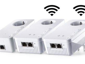 dLAN 1200+ WiFi ac Network Kit – Überall im Haus schnelles WLAN