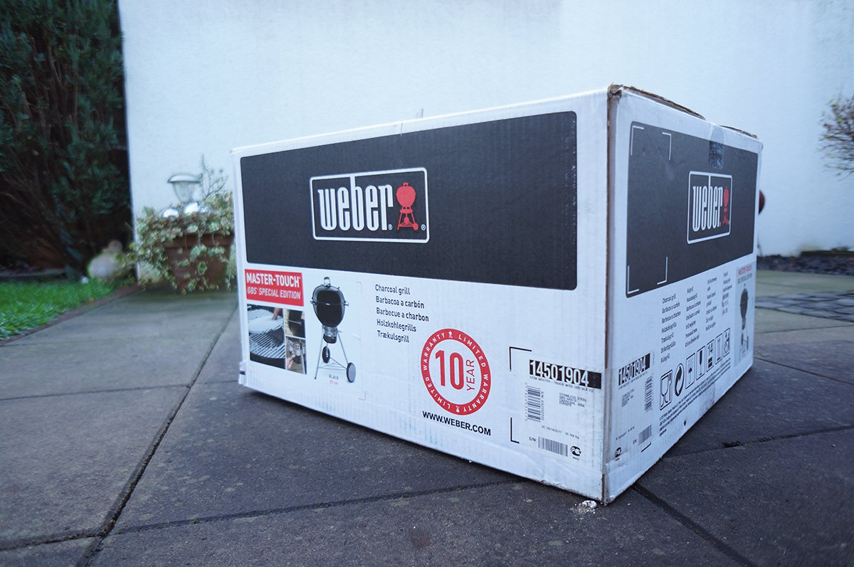 Aufgebaut: Weber Master-Touch GBS Special Edition
