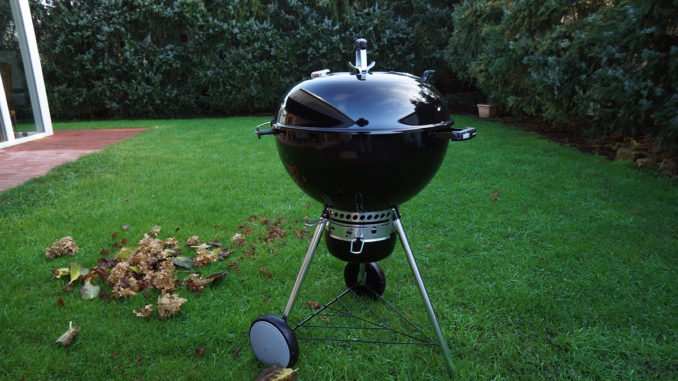 Weber Holzkohlegrill Master Touch Gbs 57 Cm Special Edition : Aufgebaut weber master touch gbs special edition u trendlupe
