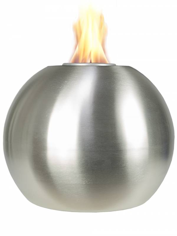 Gewinnspiel: Edelstahl Feuerkugel von pflanzwerk