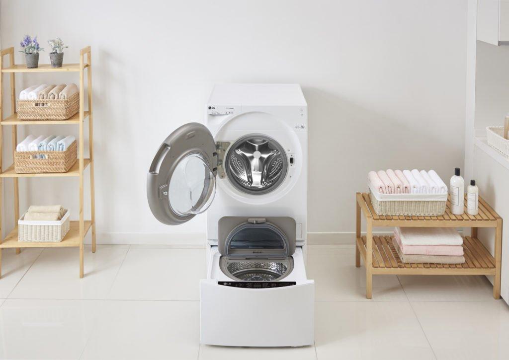 Werbung | TWINWash Waschmaschine von LG – Zeitersparnis durch Waschen im Doppelpack #LGTWINWash