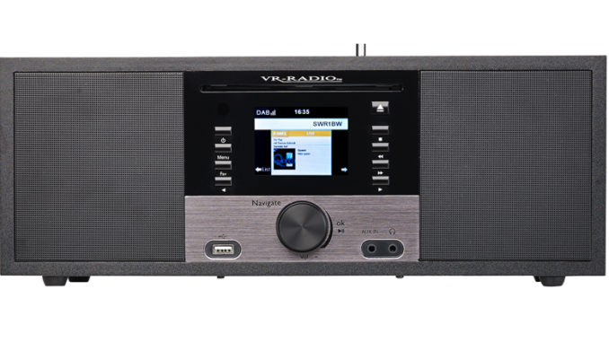 Multifunktionelles Internetradio mit CD-Player - IRS-700 von Pearl