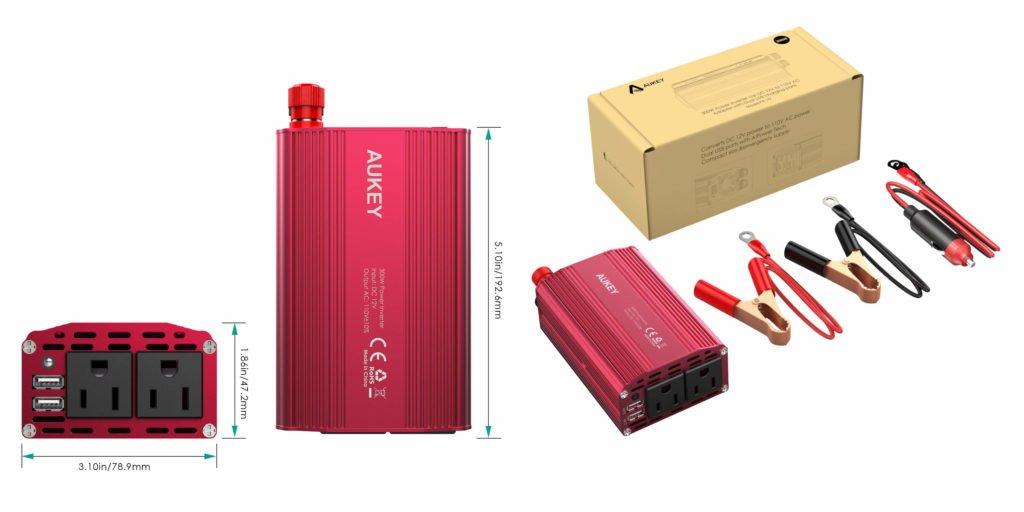 Werbung | AUKEY Power Inverter – Auch unterwegs mit Spannung versorgt
