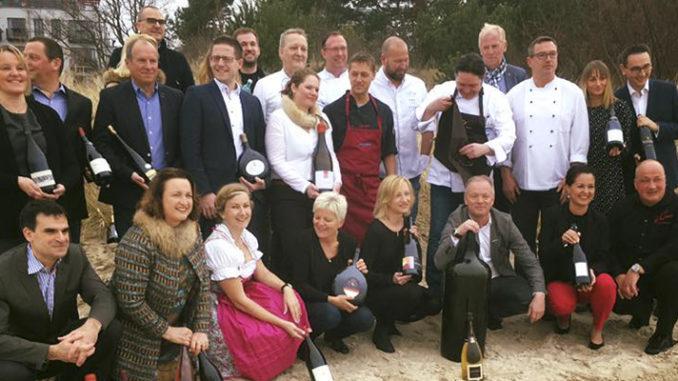 Franken gegen Frankreich – 8 . Usedomer Wein-Party im Strandhotel Heringsdorf
