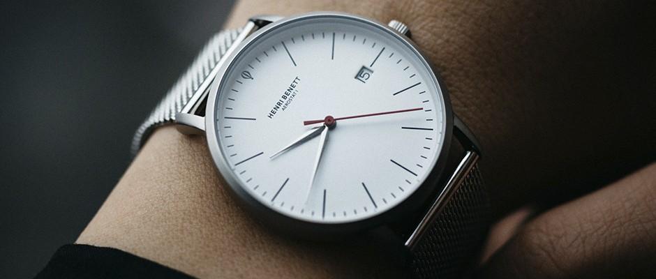 Zeitlos, klassisch und stilbewusst – Uhren von HENRI BENETT