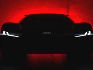 Werbung | Designstudie des Audi PB18 e-tron – Weltpremiere in Pebble Beach