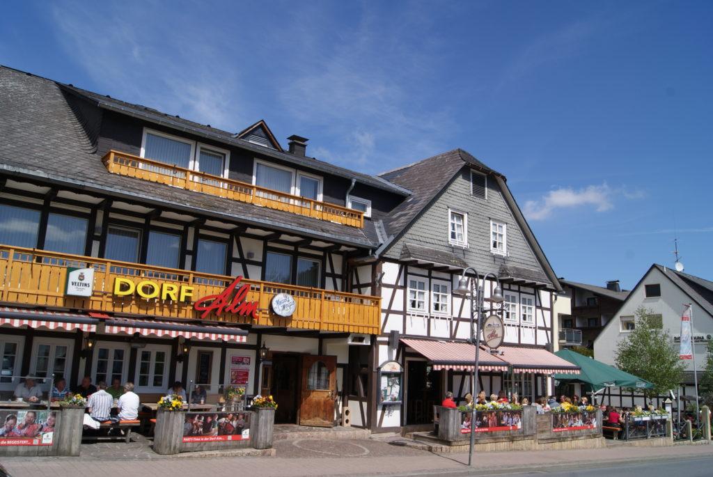 Werbung | Gästehaus Dorf Alm Willingen