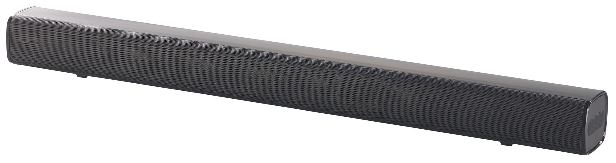 Werbung | Stereo-Soundbar MSX-400.bt von Auvisio – Hörgenuss mit wenig Platzbedarf