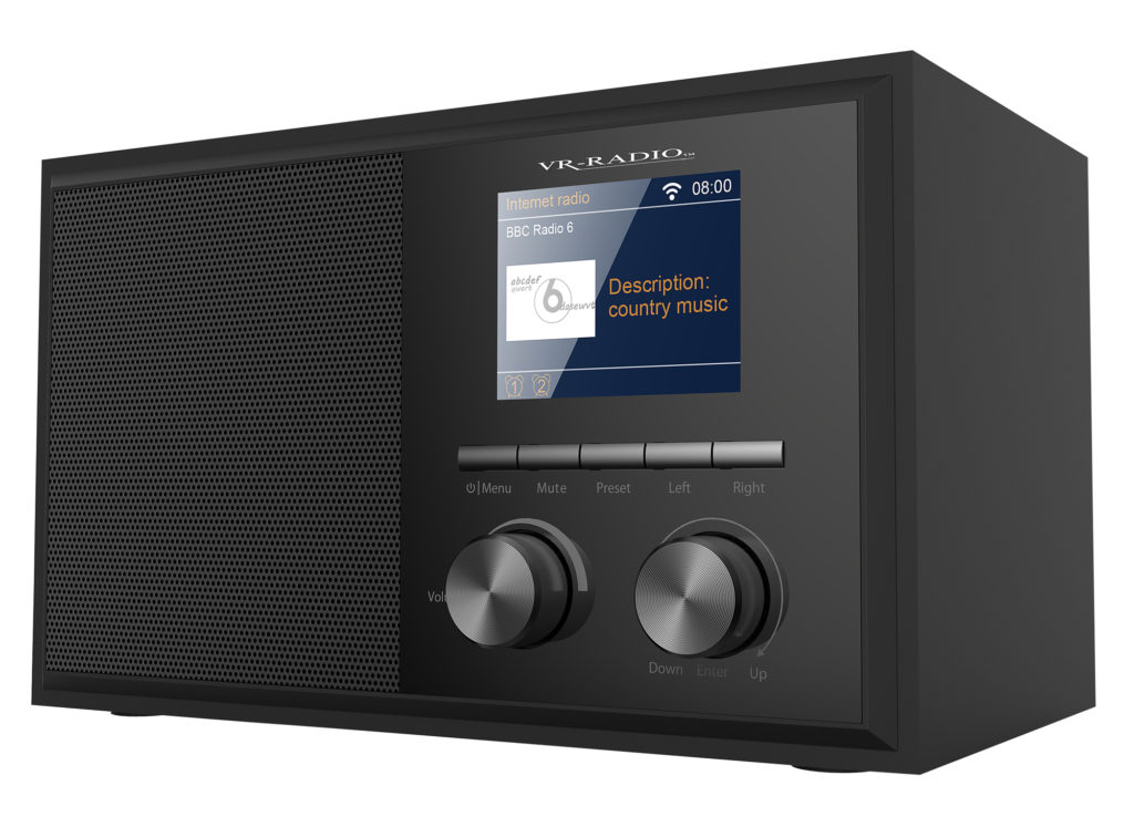 Werbung | Funktionelles WLAN-Internetradio – VR-Radio IRS-250