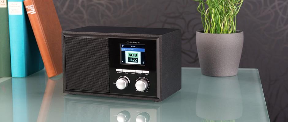 Funktionelles WLAN-Internetradio - VR-Radio IRS-250