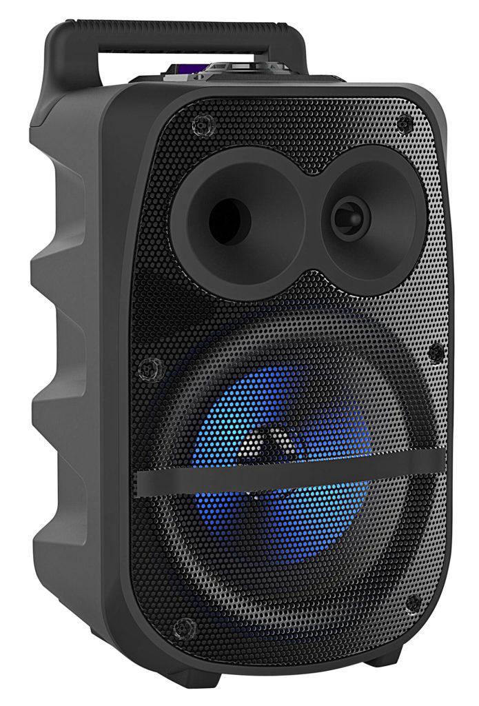 Werbung | Partystimmung dank sattem Sound und Karaoke-Funktion – Partyanlage PMA-950.k