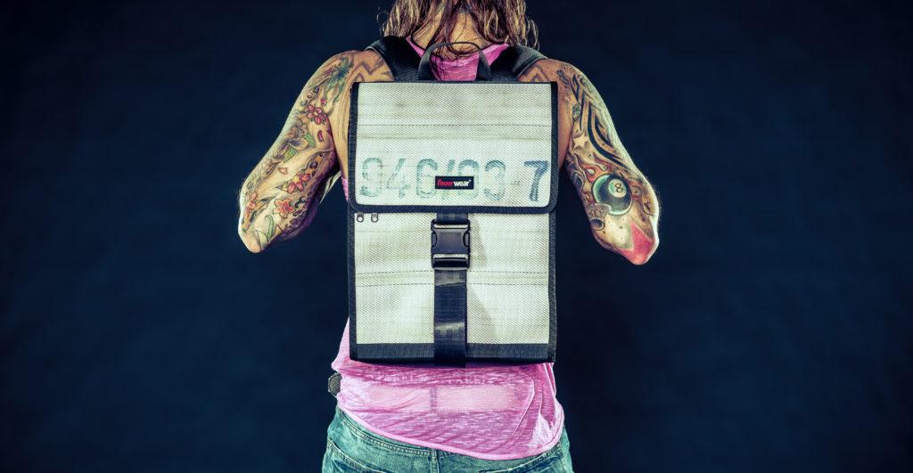 Werbung | Jetzt kommt Eric – Ein robuster Rucksack aus Feuerwehrschläuchen