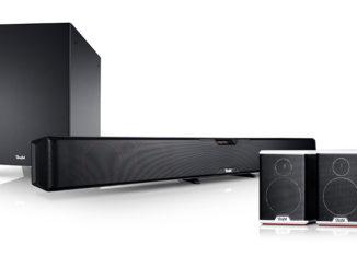 Werbung   Teufel Cinesystem Pro Soundbar mit Wireless Surround Sound – Kabellos durch den Film