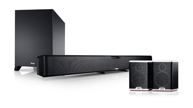 Werbung | Teufel Cinesystem Pro Soundbar mit Wireless Surround Sound – Kabellos durch den Film