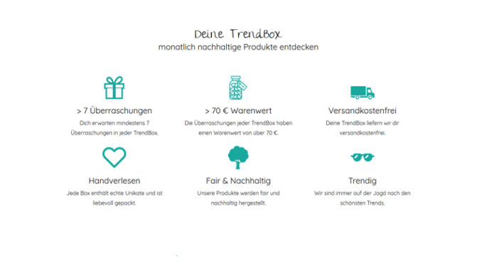 Werbung | Trendraider- Trendbox Januar