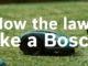 Werbung | Mow the lawn like a bosch – werde smart und lass den Nachbar staunen