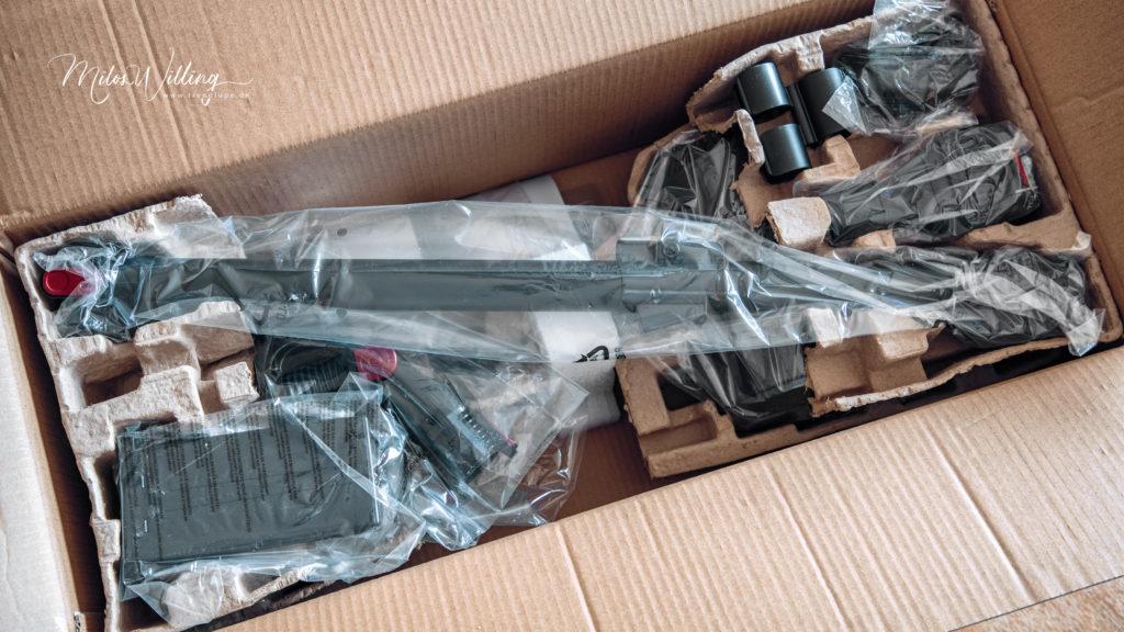 Werbung | 2in1-Akku-Zyklon-Staubsauger von Sichler Haushaltsgeräte